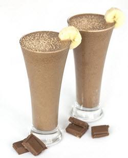 chaga choklad smoothie