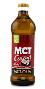 MCT olja baserade på kokosolja