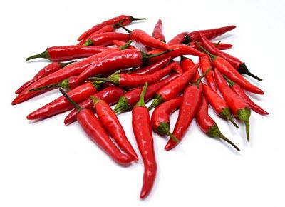 Capsaicin finns i chilli