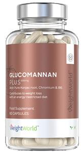 Glukomannan konjakrot Plus burk